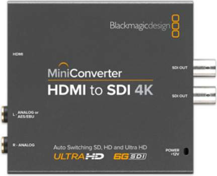 CONVERTISSEUR BLACKMAGIC HDMI TO SDI